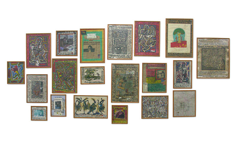 Sem Título. Kapela, 1999. Drawings And Collage. Dimension Variable