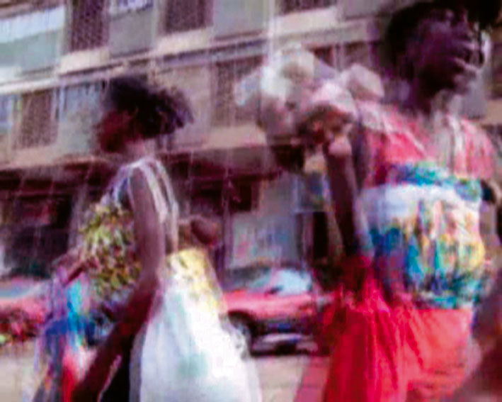 Kangoroo, Arreio Arreio, Crazy Luanda, 2006. Three Videos. Loop, Colour, Sound.