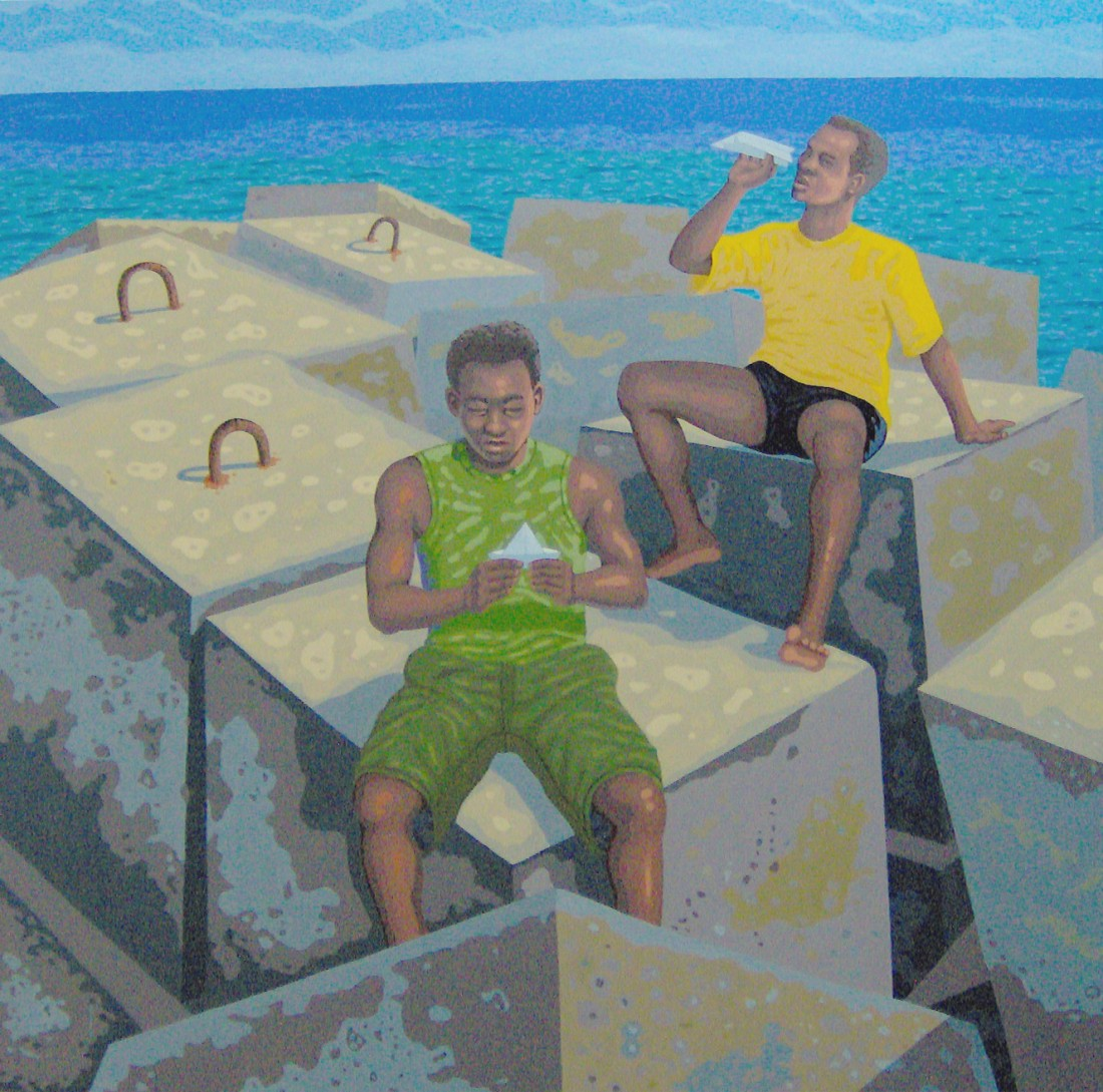 Sem Título. Brise Lame Ilha Lad, 2005. Oil On Canvas