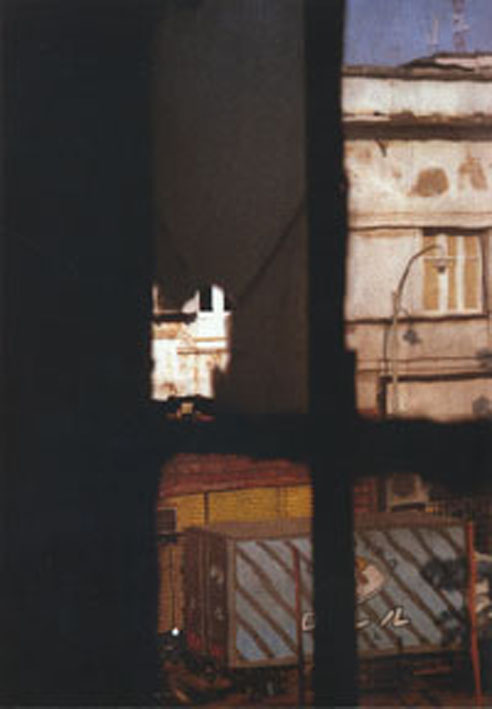 Janela I E II, 2005. Diptych. Print On Canvas