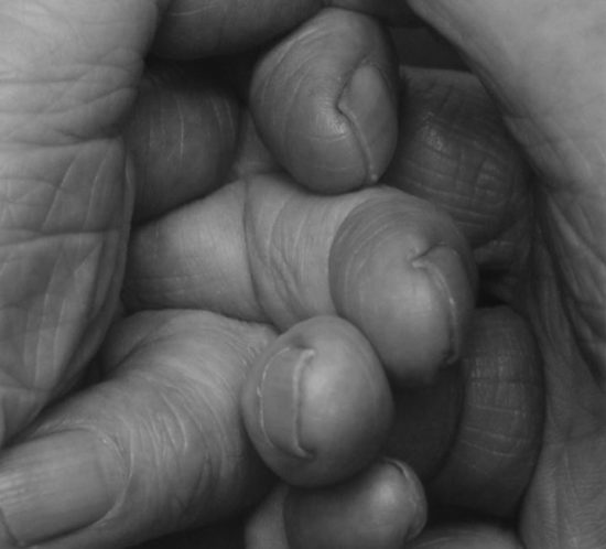 SP1 00 Interlocking Fingers N°15. 2000. 86 x 69 cm. PHOTOGRAPH