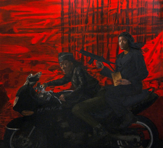 Kombi Continua. 2010. 171 x 160 cm	. OIL ON CANVAS