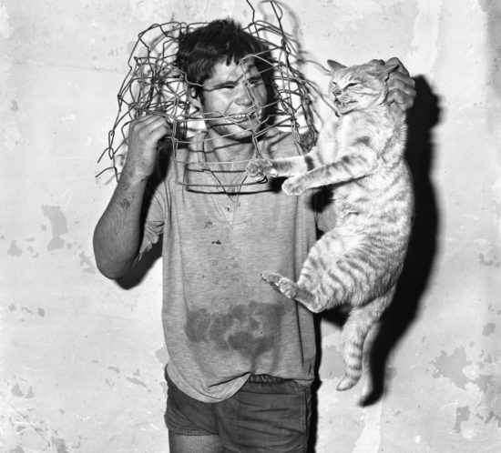 Cat Catcher. 1998. 40 x 40 cm. PHOTOGRAPH