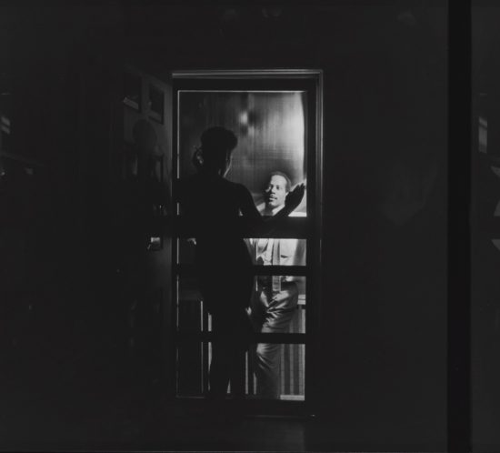 Untitled (Black Love), 1992/2001, gelatin silver prints, in 3 parts, 14x45 inches